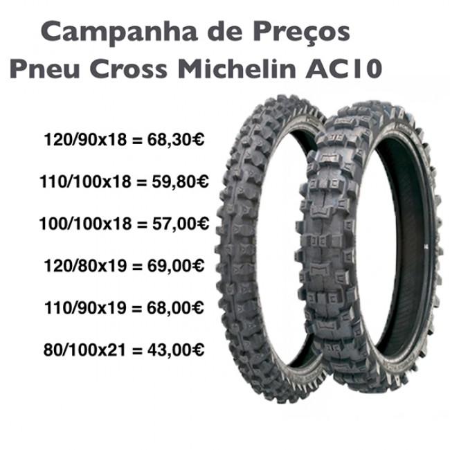 CAMPANHA PNEU CROSS MICHELIN AC10