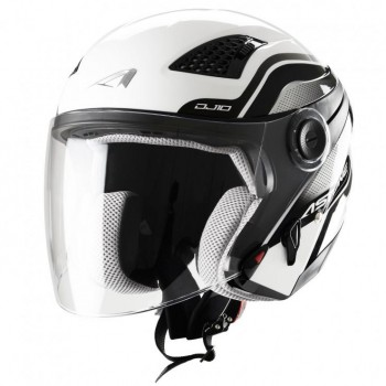 CAPACETE ASTONE ABERTO JET DJ10 GRAPHIC EXCLUSIVE