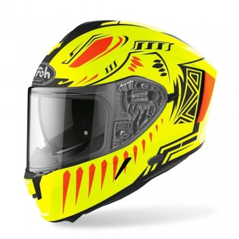 CAPACETE AIROH INTEGRAL SPARK VIBE AMARELO FLUOR