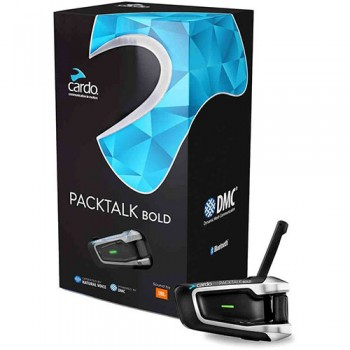 INTERCOMUNICADOR CARDO PACKTALK BOLD DUO 2 CAPACETE